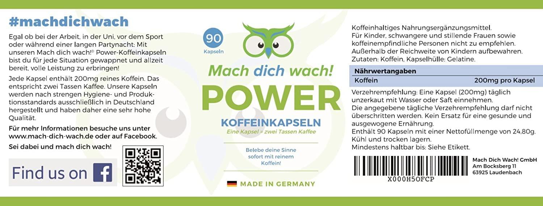 Mach Dich Wach – Vitamine - Aktion – inhaltsstoffe – Deutschland